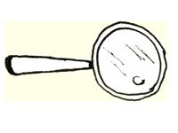 Anschauungsbild der Branding Agentur Wien – Lupe als Symbol für fokussiertes Branding